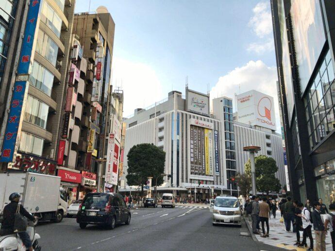 カルド渋谷店への途中の風景1