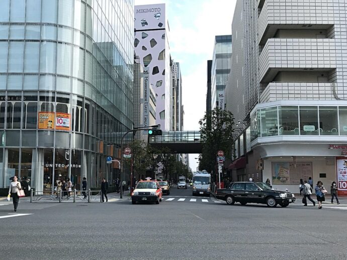 LAVA銀座本店へのアクセス3