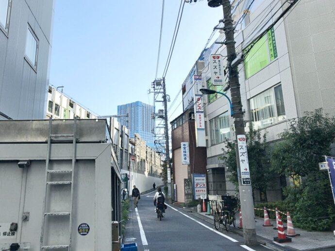 ヨガプラス高田馬場店へのアクセス2